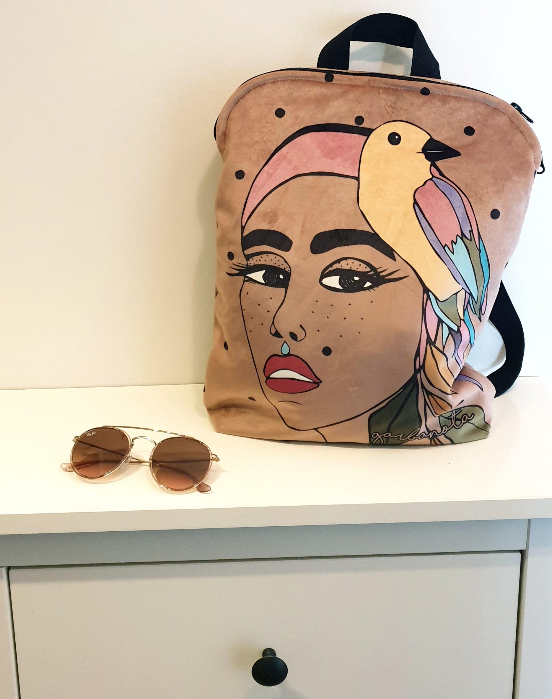 Unique Canvas Backpack For Women