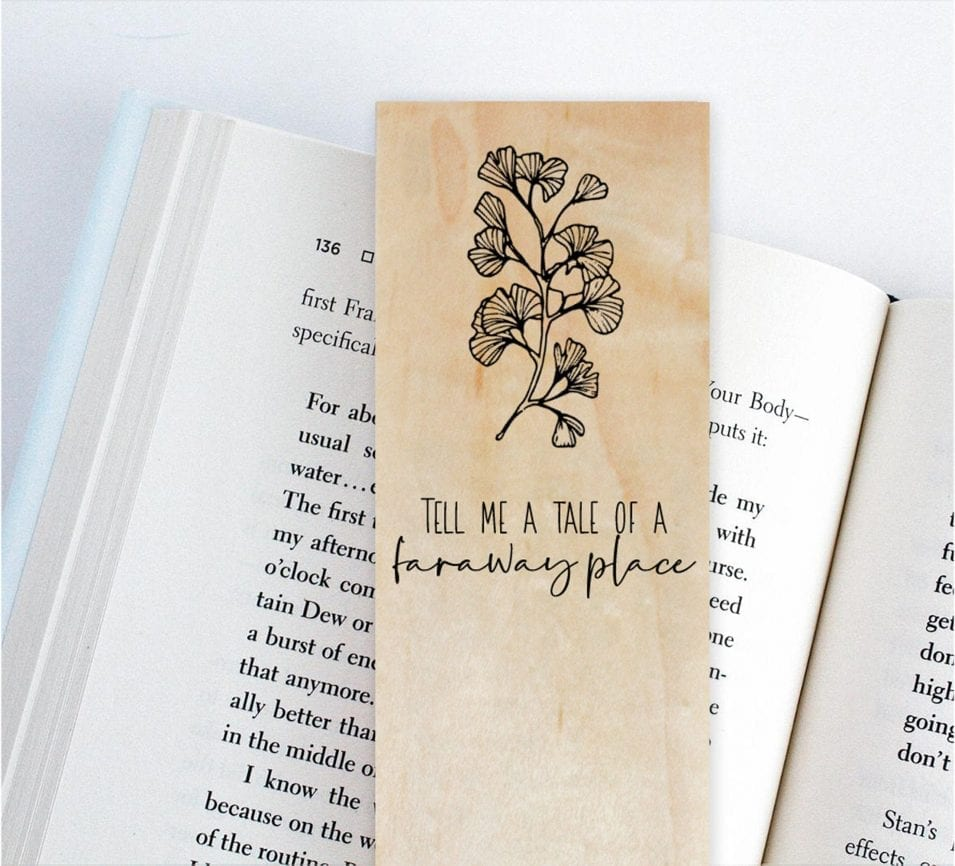 Wooden Bookmark Gift Idea 2020