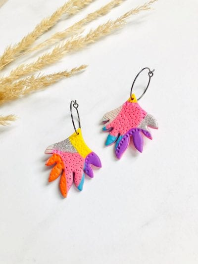 Clay Statement Earrings Style 2020