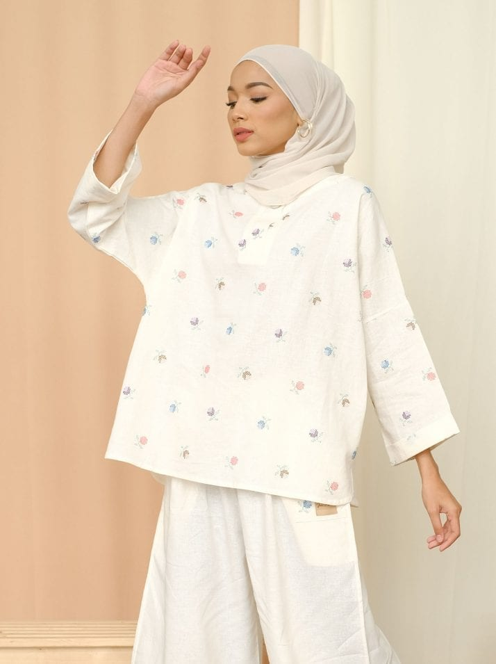 Casual But Chic Dressing In Boxy Blouses For Eid 2021 With Jari Alana