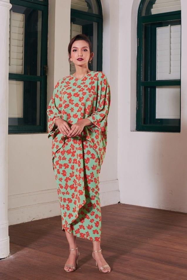 Baju Raya 2021 Inspo: Batwing Pareo In 4 Distinct Styles