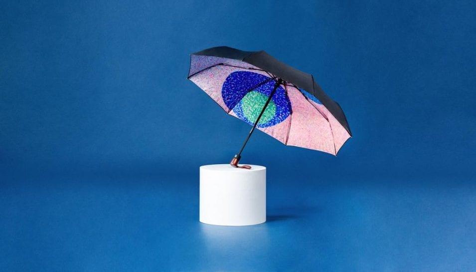 Dot Artistic Compact Windproof Umbrella