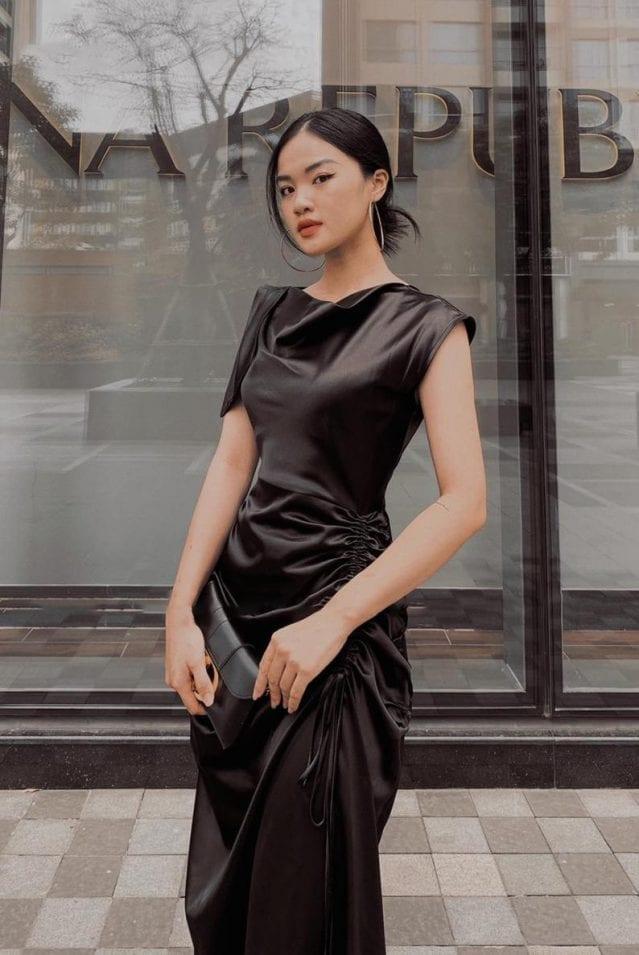 Sleeveless Silk Midi Dress