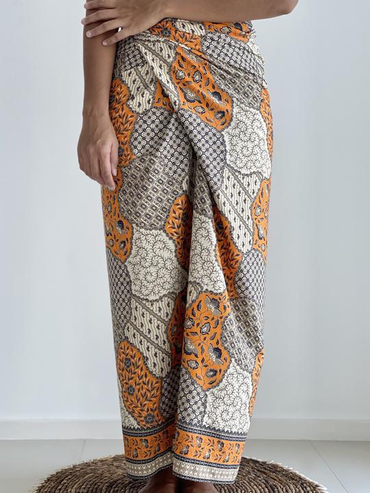 Balinese cotton batik sarong