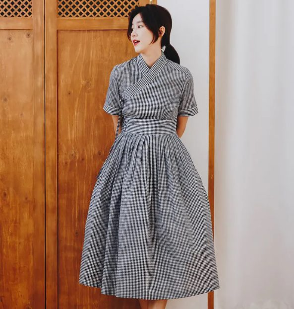 Korean Style Chic: Modern Hanbok Dresses To Wear