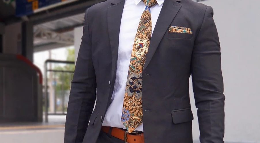 Batik neckties to personalize your official wear with something extra oomphy!