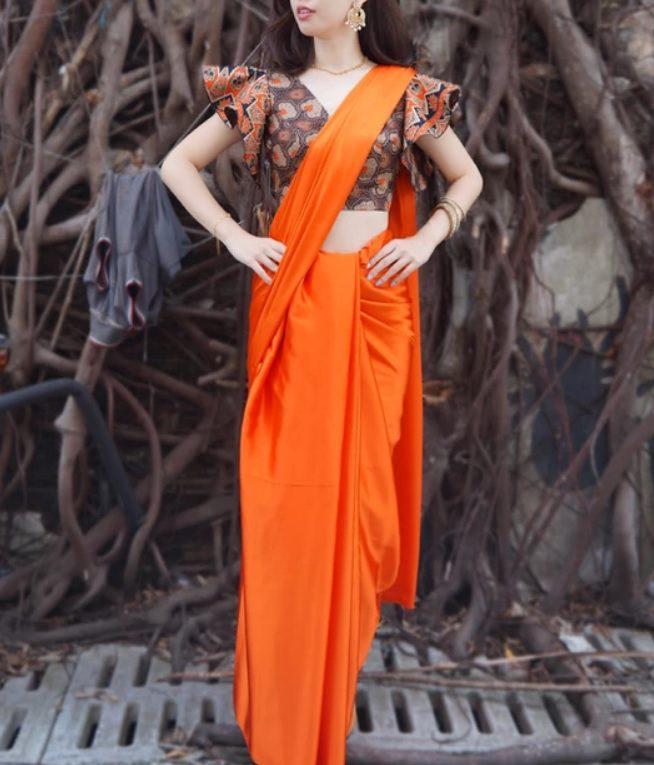 Nadia set batik saree from Gerson Batik