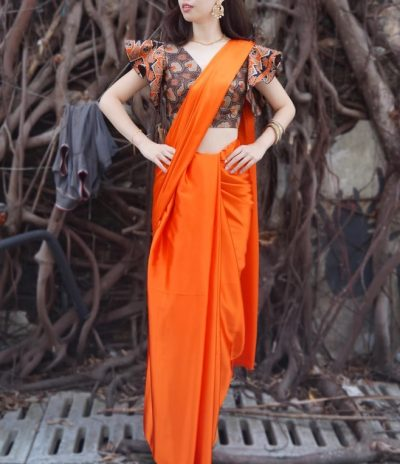 For The Love of Batik: Custom-Made Saree Blouses
